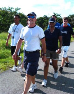 Heart Walk with FAU students.