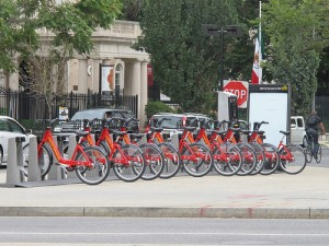Capitol Bikeshare: Across from the Mexican Embassy